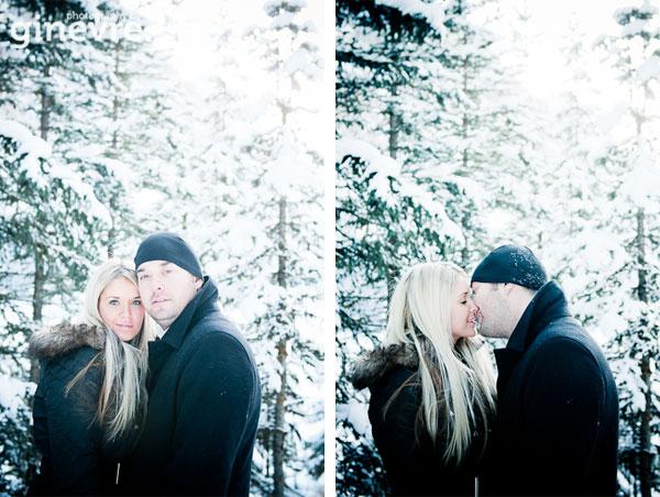 Lake Louise engagement photos