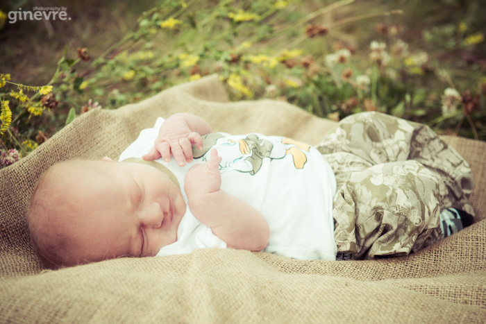 Canmore newborn photography