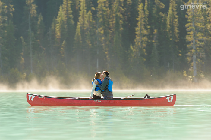 Lake Louise proposal shoot
