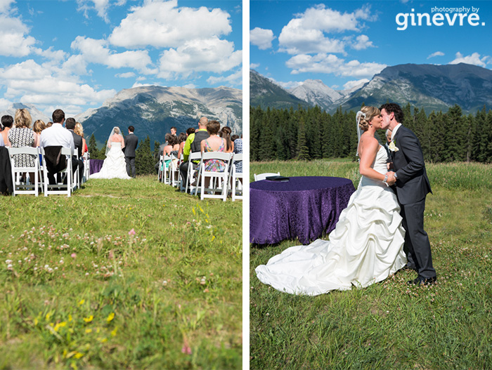 Canmore wedding Quarry Lake