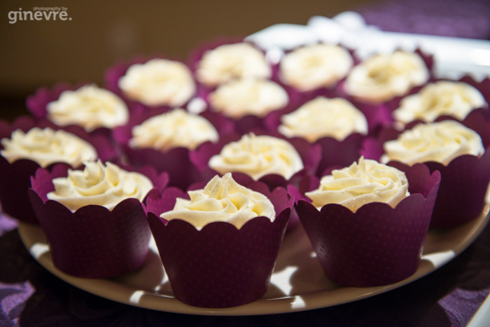 Canmore wedding cupcakes