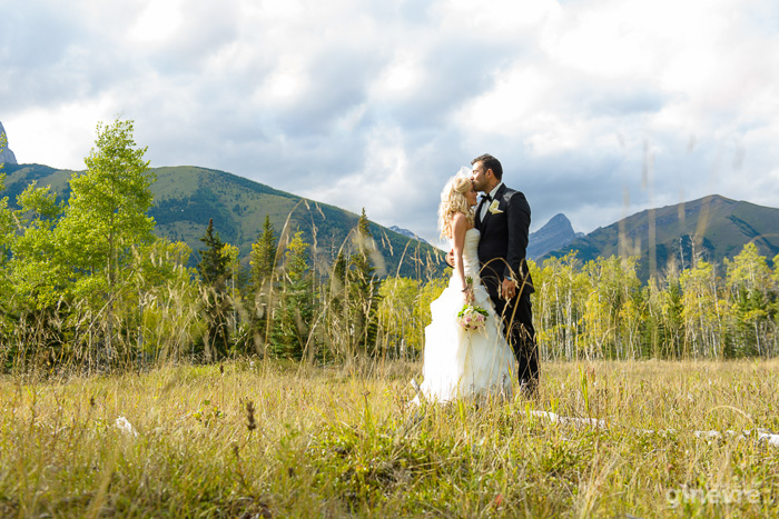 Kananaskis wedding at the Delta Lodge