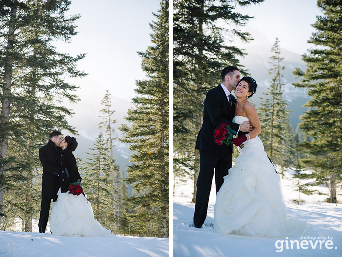 Photography By Ginevre Stewart Creek Canmore Wedding Melissa Terry