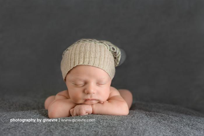 Canmore newborn photo