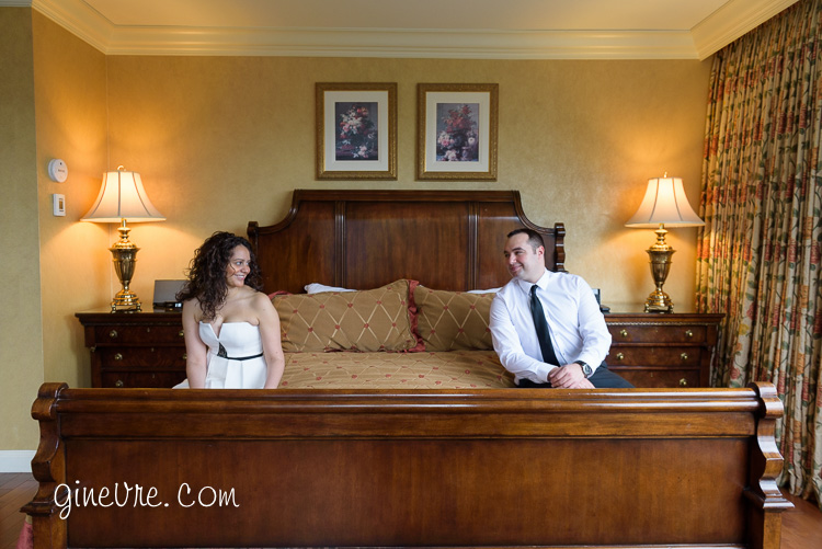 Engagement photo at the Rimrock Hotel