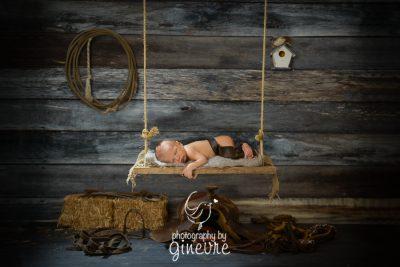 newborn baby art greeting card