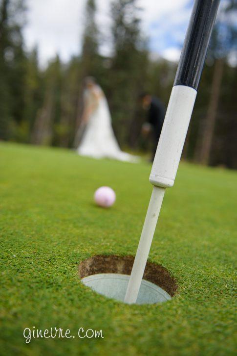 silvertip golf wedding photo