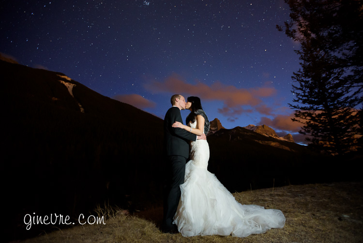 canmore wedding photography at stewart creek golf club