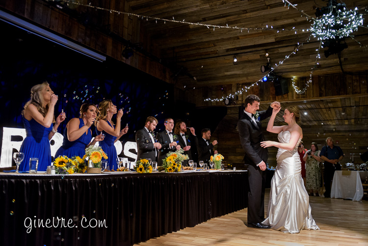 canmore wedding photography cornerstone theater