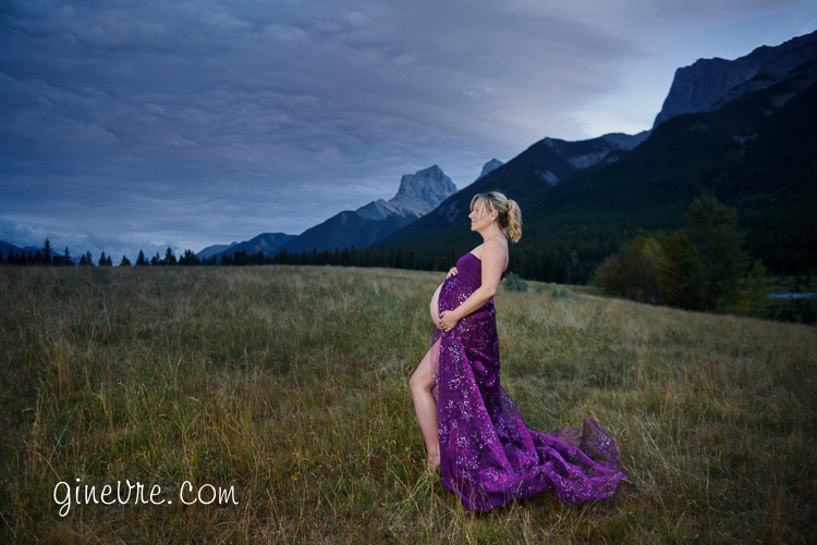 Canmore maternity photos